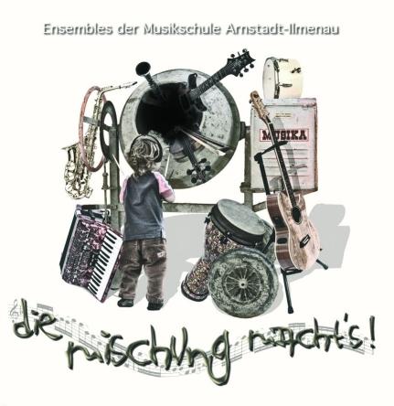 CD-Cover 2004 - Ensembles der Musikschule Arnstadt-Ilmenau